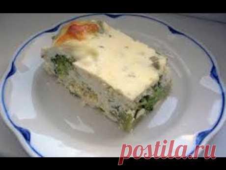 Диета!!! Запеканка из брокколи и сыра тофу