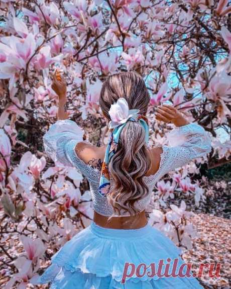 Весной расцветают цветы, дyши, надeжды и мечты...