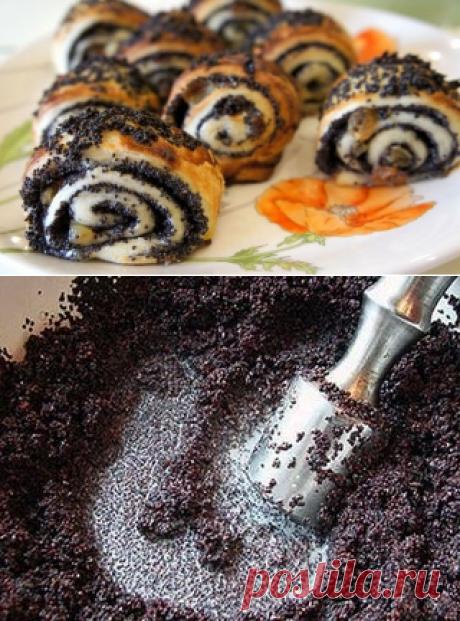 Как правильно делать маковую начинку для пирожков и рулетов