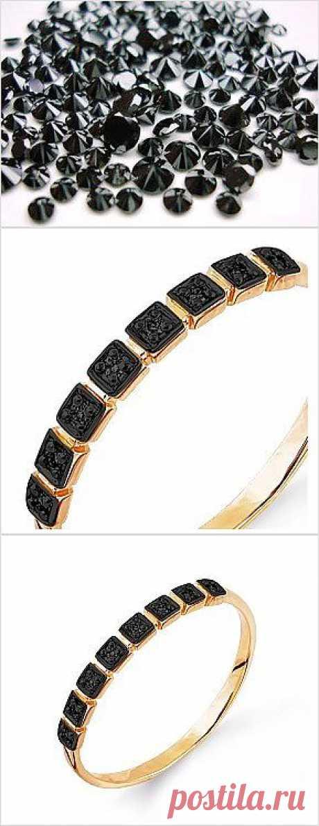 Черные бриллианты вечны. Меняется мода, меняются ценности, но бриллианты всегда в цене. Кольцо с уникальным черным алмазом по уникальной цене. Купить за 4 140 руб.