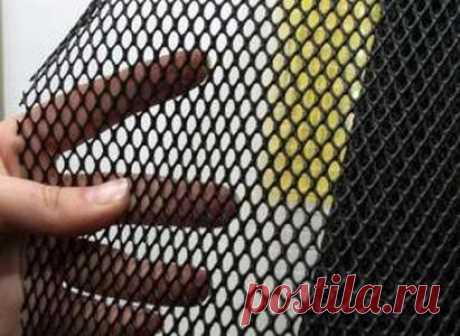 Пластиковая сетка для защиты газона от кротов 2*30м черная Г-9 | Гранд Мастер