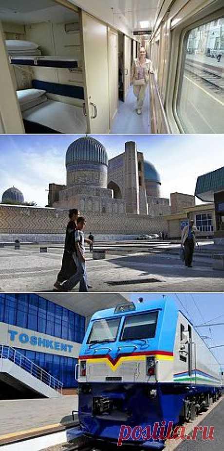 Фотогалерея: Из Москвы впервые отправился двухэтажный поезд - а в Ташкент китайские электровозы прибыли.