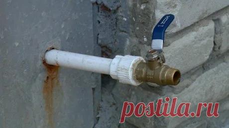 Как сделать незамерзающий кран во дворе частного дома? Три рабочие схемы   Строю для себя   Пульс Mail.ru Незамерзающий водоразбор на улице