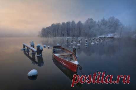 Шатурские озера, Московская область. Автор фото: Евгений Жмак.
