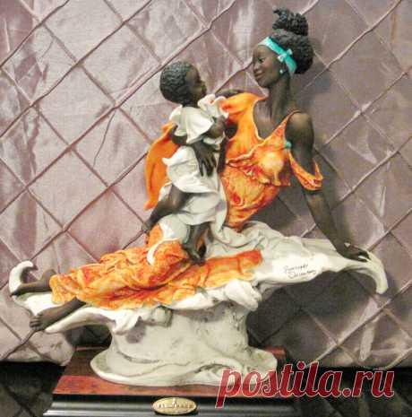 Женственность, нежность, красота - статуэтки Джузеппе Армани.