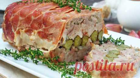 Террин со свининой и курицей - ochenvkusno.com