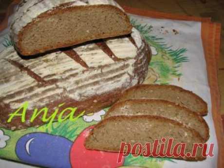 Хлеб ржаной на закваске с семечками : Хлеб, батоны, багеты, чиабатта