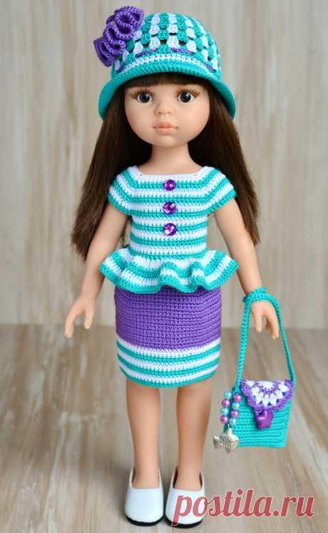 Полосатенький комплект для кукол Паоло Рейна