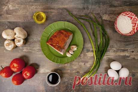 Рецепт яичного супа с помидорами