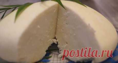 ДАЖЕ ПРЕДСТАВИТЬ НЕ МОГЛА,НАСКОЛЬКО ЭТОТ СЫР ВКУСЕН, а Главное БЕЗ ХИМИИ, Своими руками Домашний сыр из молока. Самый легкий рецепт приготовления Сыра! Он очень нежный, вкусный и полезный.  Рецепт: Молоко (жирность 2,5%, 3,2%) – 3л. Соль – 1 ст.л. Сахар – 1 ч.л. Лимонная кислота - 1ч.л (или сок лимона 3-4 ст.л) Процесс приготовления и все секреты приготовления Вы можете посмотреть здесь:  ПОШАГОВЫЕ РЕЦЕПТЫ С ФОТО