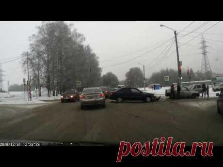 Авария 31.12.2018 город Кострома - YouTube