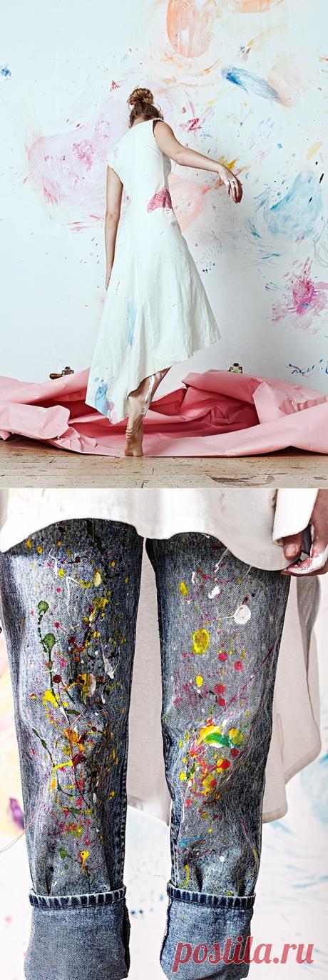 """Artist At Home"", Lisa Smirnova, Olya Glagoleva Вышивка"