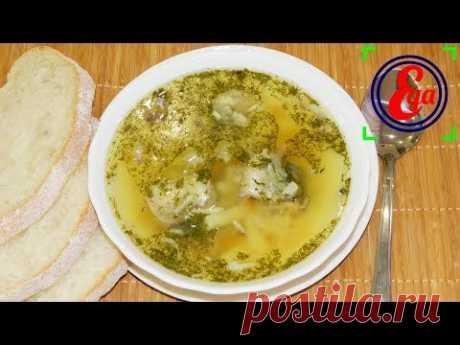La sopa con los conservas de pescado