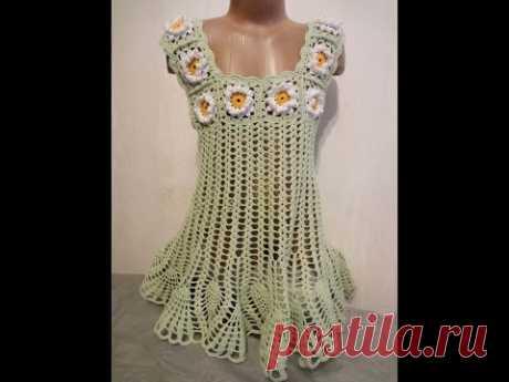 Платье туника Часть 1  Tunic dress Part 1