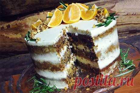 Крем для торта из творожного сыра хорошо держит форму
