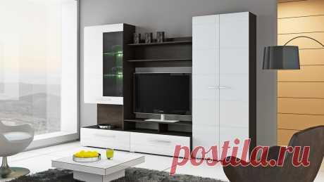 Cтенка для гостиной «Вега» купить за 27 990 руб   Мебельный интернет-магазин ТриЯ