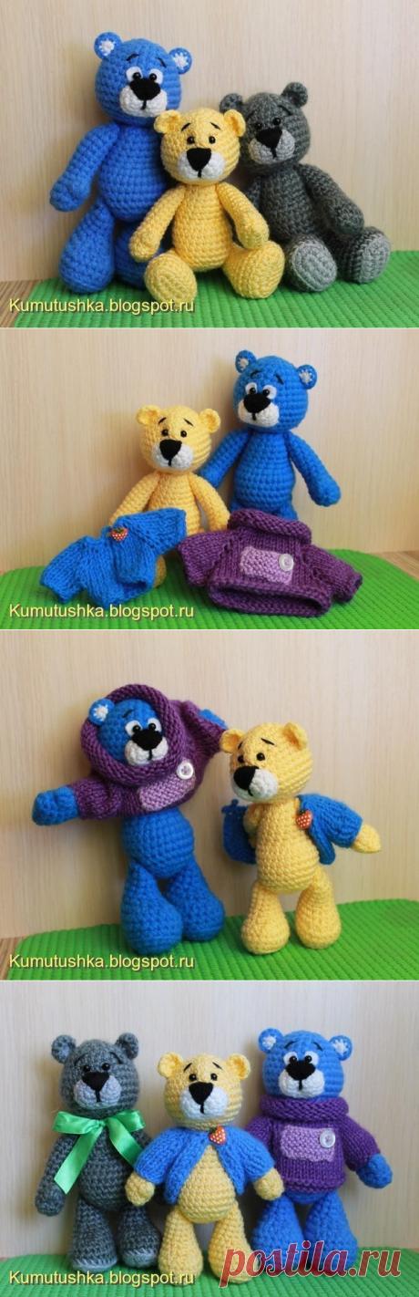 Мишки от Марины Чучкаловой.