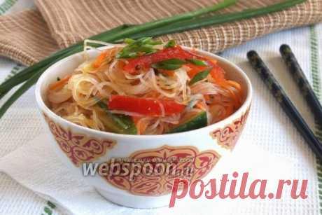 Фунчоза по-корейски рецепт с фото, как приготовить на Webspoon.ru