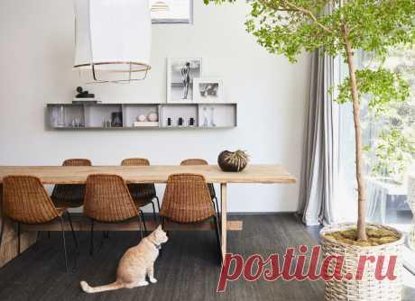 Как украсить стену над обеденным столом: 22 красивых идеи — Roomble.com