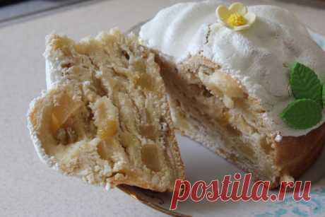 Кулич-краффин с сухофруктами и цукатами - рецепт с фото пошагово Кулич-краффин с сухофруктами и цукатами - пошаговый кулинарный рецепт приготовления с фото, шаг за шагом.
