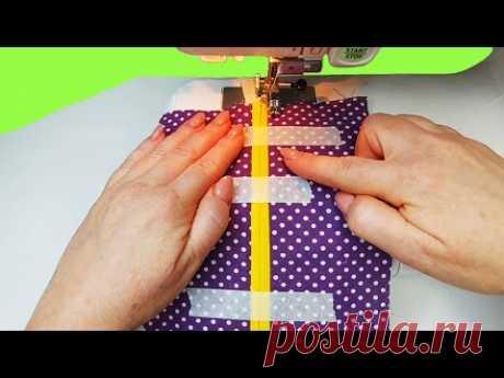 Швейные фокусы и фишки, которые значительно упростят шитьё (подборка № 12)/sewing life hacks