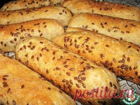 Хлебные палочки Кулинарный рецепт