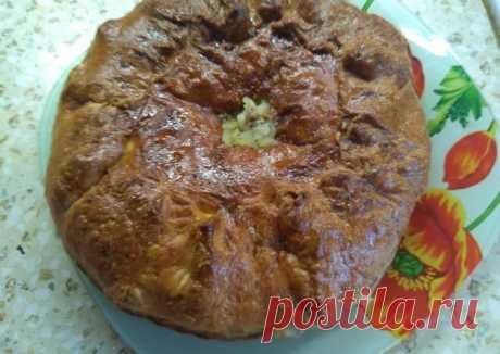 (13) Пирог курник - пошаговый рецепт с фото. Автор рецепта Салмина Наталья . - Cookpad