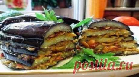 Баклажаны по-турецки. Вкусно и быстро!