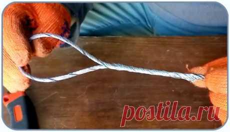 Как завязать петлю из стального троса