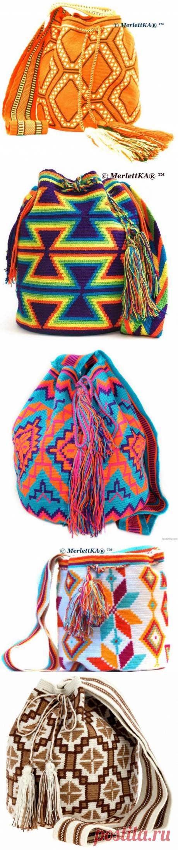 Мочила - жаккардовый рюкзак. Схемы / Вязание