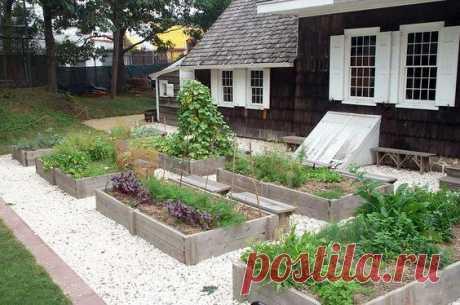 Огород в поддонах. 25 замечательных идей для участка — 🍎 Сад Заготовки