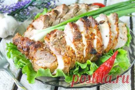 Буженина из свинины в фольге в духовке — Sloosh – кулинарные рецепты