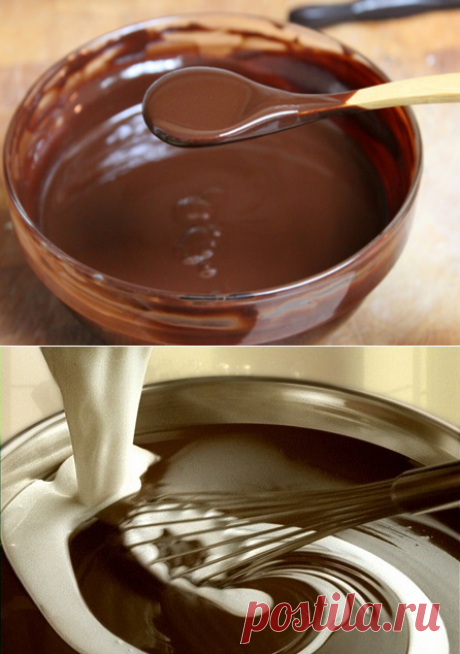 Несколько советов по приготовлению шоколадной глазури | Четыре вкуса