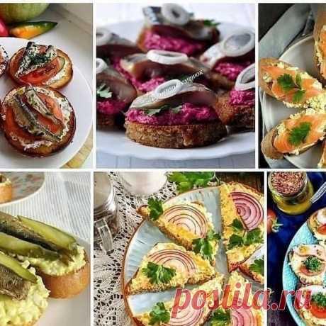 Бутерброды на любой вкус | Самые вкусные кулинарные рецепты