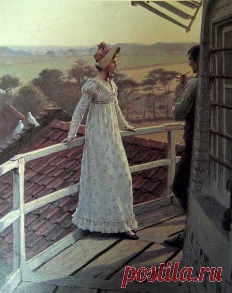 Романтический мир Эдмунда Блэйр-Лейтона: tiina