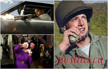 12 мифов, в которые все поверили благодаря известным фильмам Просматривая американские фильмы, внимательный зритель может заметить, как часто повторяются определенные сцены. Будь то полицейская погоня, военное сражение либо приключения, произведения голливудски...