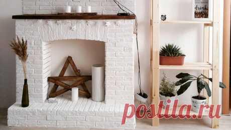 4 способа сделать фальш-камин своими руками: пошаговая инструкция Рассказываем, как создать декоративный камин в доме при помощи подручных материалов.