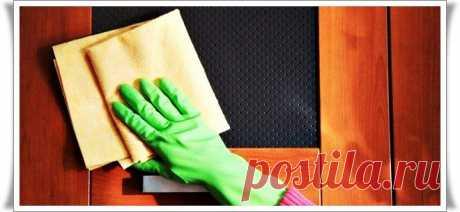 Натуральное средство для чистки мебели.