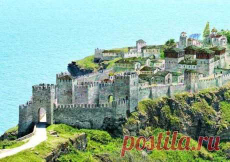 Калиакра - столицата на деспот Добротица  На 60 км северно от големия български град Варна се намира дългият и тесен нос Калиакра. Той е вдаден на 2 км в морето …
