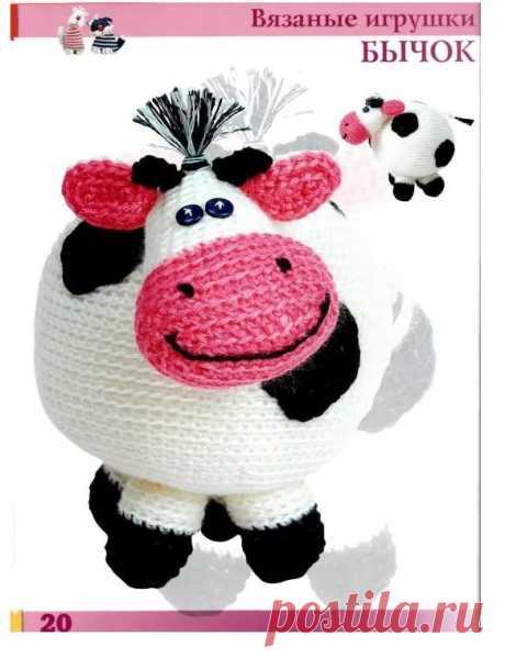 Вязаная игрушка корова крючком схемы: 6 тыс изображений найдено в Яндекс.Картинках