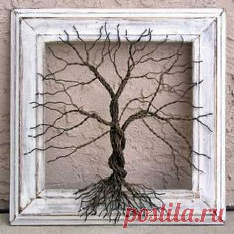 Original Wire Tree Abstract Sculpture by Amy Giacomelli …