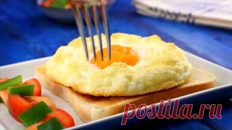 Готовим завтрак за 5 минут! 4 рецепта простых завтраков из яиц