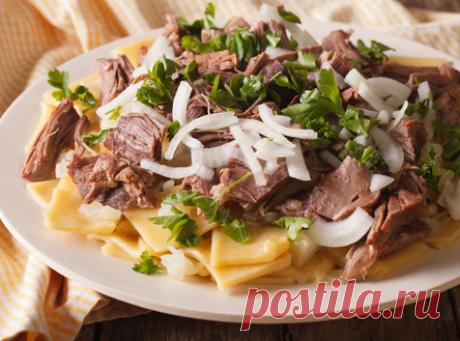Как приготовить бешбармак: лучшие рецепты с бараниной, говядиной, кониной, уткой, курицей