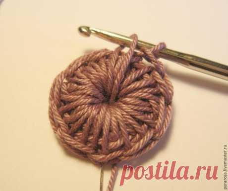 Вяжем милые пуговицы для создания украшений и декора - Ярмарка Мастеров - ручная работа, handmade