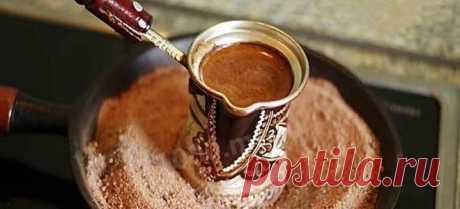 Кофе в турке – по-турецки, по-французски, по-бразильски, по-арабски, по-венски, с молоком, карамелью, коньяком и другие варианты