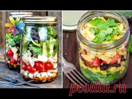 Летний салат в банке к зиме!