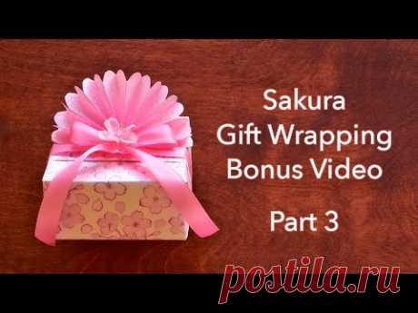 Sakura Gift Wrapping 🌸 Part 3
