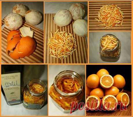 Апельсиновое масло своими руками