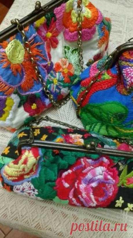Бразильская вышивка «Chita bordada»