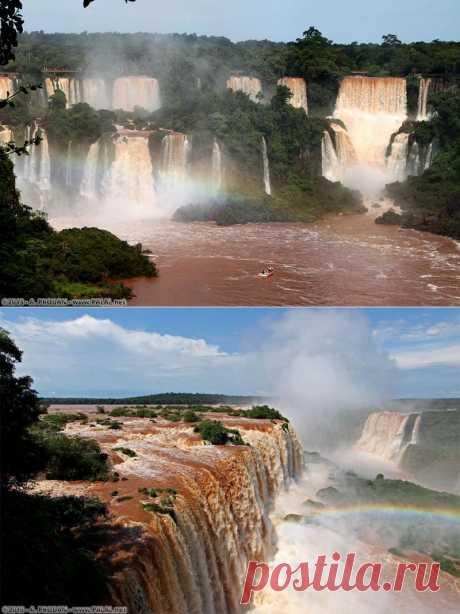 Водопады Игуасу :  НОВОСТИ В ФОТОГРАФИЯХ